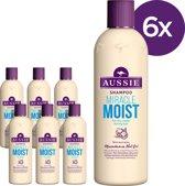 Aussie Miracle Moisture  - Voordeelverpakking 6x300ml - Shampoo