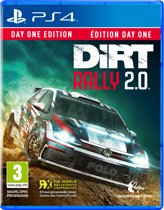 Cover van de game DiRT Rally 2.0 Day One Edition - PS4