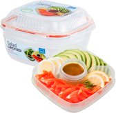 Lock&Lock Salade lunchbox met tray - 1.6 Liter
