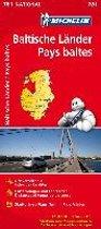 Michelin Baltische Länder (Estland, Lettland und Litauen) 1 : 500 000