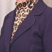 ComfortTrends Kraagje Luipaardprint Dames - One size