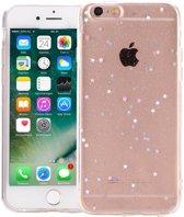 iPhone 6 Plus/6S Plus Glitter Hoesje Sterretjes