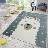 Vloerkleed Kinderkamer Emma 80x150 - Blauw