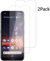 Nokia 3.2 Screenprotector Tempered Glass 2 Pack - Ntech
