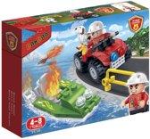 BanBao Brandweer Brandweerauto- en Boot - 7118