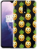 OnePlus 7 Hoesje Happy Ananas