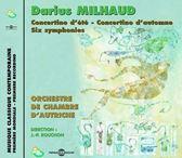 Darius Milhaud - Par L'Orchestre De Chambre D'Autric