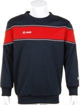 Jako Sweater Player Junior - Sporttrui - Kinderen - Maat 116 - Navy;Red