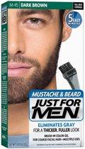 Just For Men Snor&Baard Donker Bruin - Haarverf