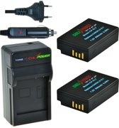 ChiliPower LP-E17 Canon Kit - Camera Batterij Set