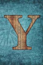 Monogrammed Notebook - Y