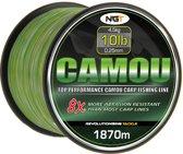 NGT Camouflage Lijn 10lb / 4.5kg / 0.25mm – 1870m