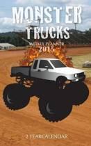 Monster Trucks Weekly Planner 2015