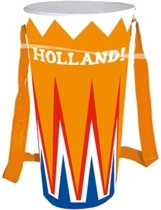 Opblaas drum holland: 35 cm (30921)