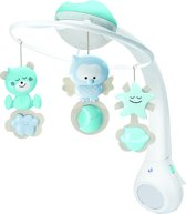 B'Kids musical 3 in 1 projector mobile blue
