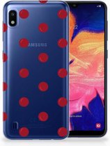Samsung Galaxy A10 TPU Hoesje Design Cherries