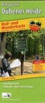 Rad- und Wanderkarte Naturpark Dübener Heide 1:60000