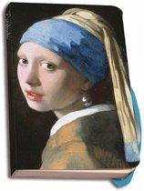 Johannes Vermeer Notitieboekje A6 Gelinieerd Het Meisje Met De Parel