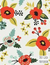 Dot Grid Notebook: 8.5 x 11 Bullet Journal Soft Cover