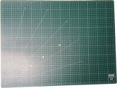 EXXO #10080 - A2 Snijmat; 5-laags zelfhelend; 2-zijdige rasterdruk; 45x60cm