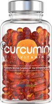 Curcumine - Superfood met Vitamine D3 - Natuurlijk Supplement - 60 Capsules