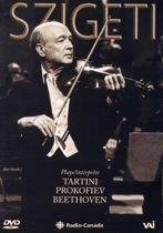 Szigeti/Balsam/Orchestre De Radio C - Violin Concerto In D/Czardas 3/Viol (dvd)
