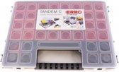 Erro Assortimentsdoos ERRO814960 - Met 14 uitneembare inzetbakjes -  Organiser Tandem C 400