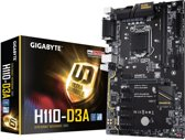 Gigabyte H110-D3A LGA 1151 (Socket H4) H110 Express ATX