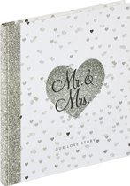 Walther Design GB-156 Our Love Story - Gastenboek - 23 x 25 cm - 72 pagina's