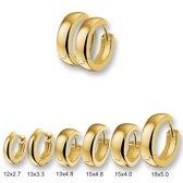 Huiscollectie 4001667 Gouden oorringen bol