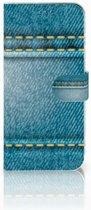 Samsung Galaxy A50 Wallet Case met Pasjes Jeans