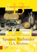 Tekst in Context - G.A. Bredero, Spaanse Brabander