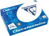 5x Clairefontaine Clairalfa presentatiepapier A4, 210gr, pak a 250 vel