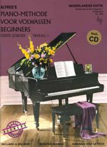 Alfred's Piano-Methode voor volwassen beginners | Lesboek 1 + CD