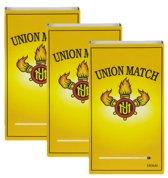 Union Match Lucifers Home 4,7 cm - 3 x 240 lucifers