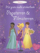 GROTE MODE STICKERBOEK - POPSTERREN EN FILMSTERREN