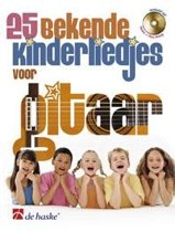 voor Gitaar 25 bekende kinderliedjes