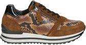 Gabor Turin H dames sneaker - Cognac - Maat 38,5