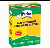 Perfax Poeder glasweefsellijm Behanglijm Behangplaksel - 1 Kg - Transparant