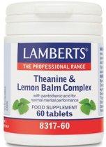 Lamberts - Theanine & Citroenmelisse Complex 60 tabletten
