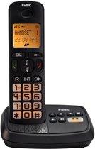 Fysic FX-5515 Senioren Dect Telefoon +beantw | Tot 15 minuten opname berichten | Zwart