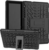Huawei MediaPad T5 10 Hoesje - Rugged Kickstand - Zwart
