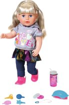 Afbeelding van BABY born Soft Touch Sister - Blond - Babypop 43cm speelgoed