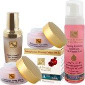 Pomegranate - Facial care - Mature skin - Set of 4