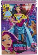 Rock 'N Royals - 2in1 Erika Pop (CKB58)Barbie