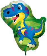 Dinosaurus Raptor Folieballon - 61x76cm