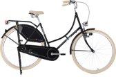 Ks Cycling Fiets 28 inch singlespeed omafiets Tussaud zwart - 53 cm