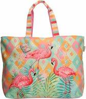 PE-Florence - Shopper / Strandtas - Flamingo