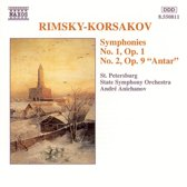 Rimsky-Korsakov:Symph.1&2