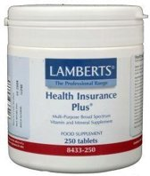 Lamberts Health Insurance Plus - 250 Tabletten - Multivitamine
